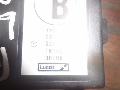 vendo control de alarma antirrobo de rover 416i, # ywc105340