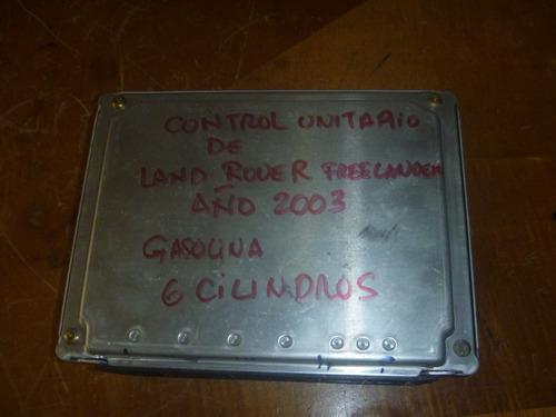 vendo control unitario de freelander,  2003, # dme ms43/kv6