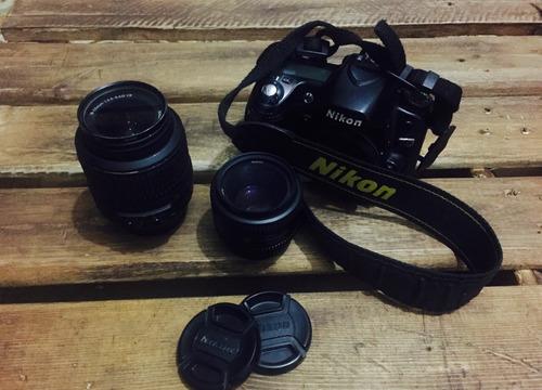 vendo corpo nikon d80  mais lente 50 mm 1.8