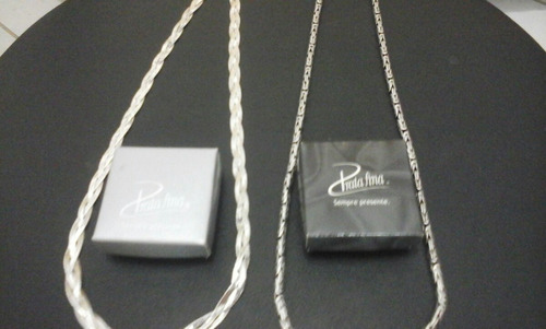 vendo correntes de prata