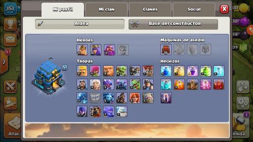 vendo cuenta de clash of clans