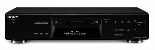 vendo: deck minidisc sony je 480.