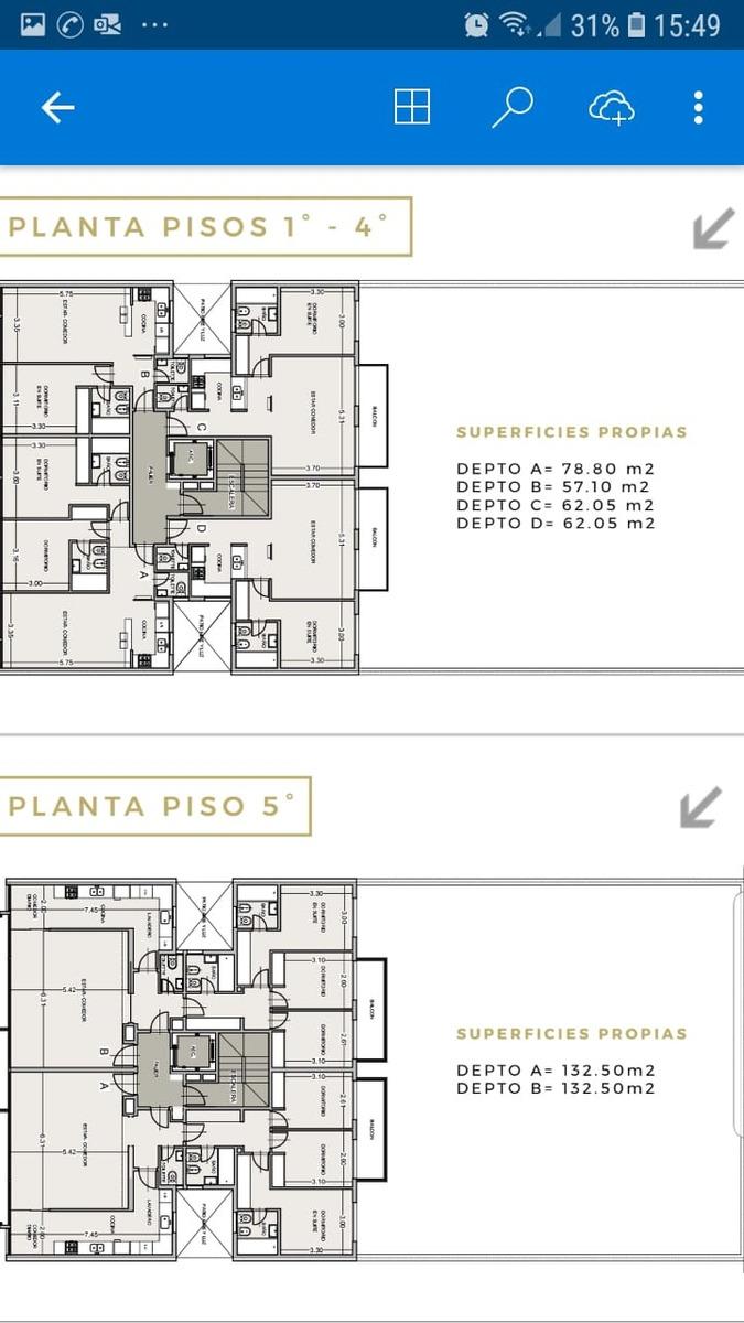 vendo departamento 2 y 3 ambientes premium consulte