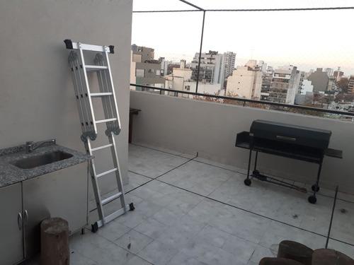 vendo departamento 4 amb con terraza en duplex villa d parqu