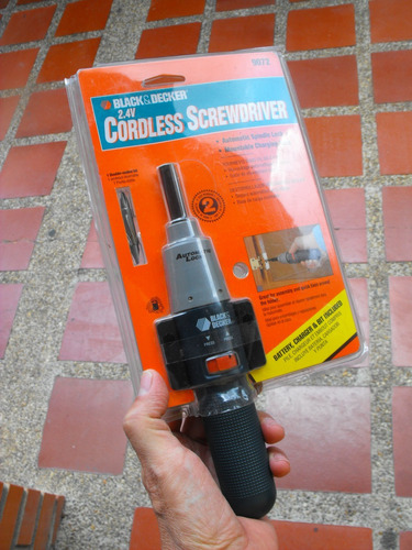 vendo destornilador inalambrico black & decker 9072. nuevo !
