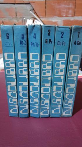 vendo diccionario enciclopédico ilustrado 6 tomos usados