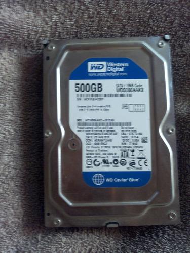 vendo disco duro de 500gb