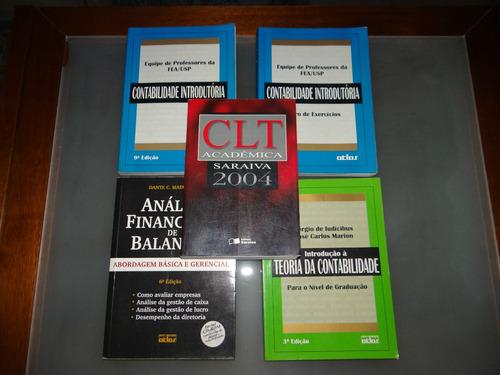 vendo diversos livros novos de contabéis e direito