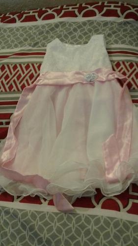 vendo divino y delicado vestido de fiesta para nena de