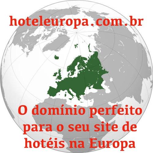 vendo domínio hoteleuropa.com.br