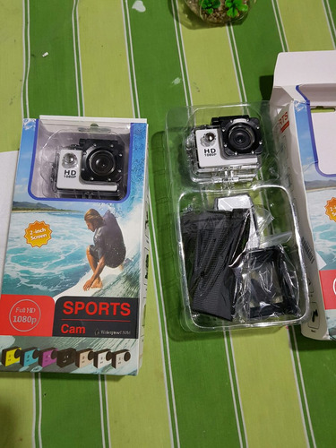 vendo dos cámaras tipo go pro nuevas