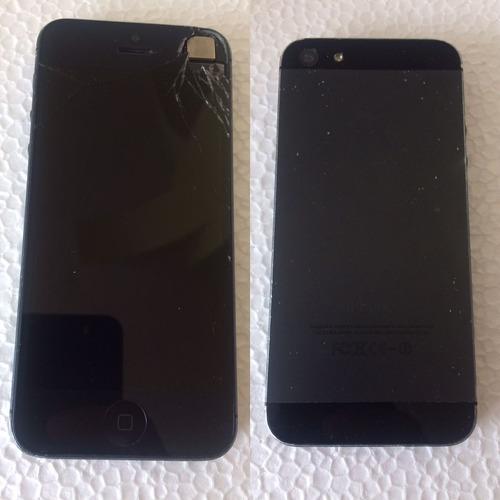 vendo dos iphones para repuesto se, 5, 5c ojo repuesto