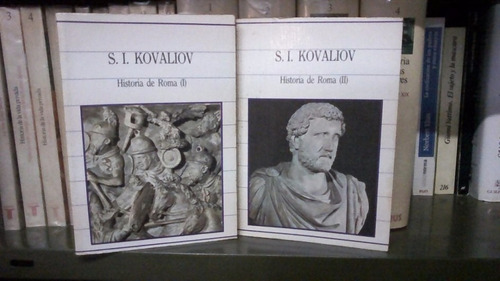 vendo dos volúmenes de historia de roma de s. i. kovaliov.