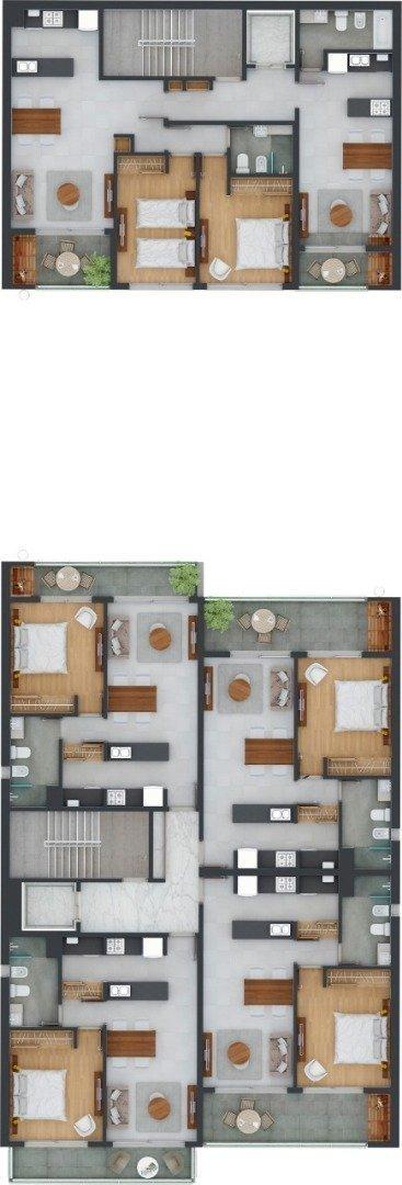 vendo dptos monoambientes, 1 y 2 dormitorios - 9 de julio 1200