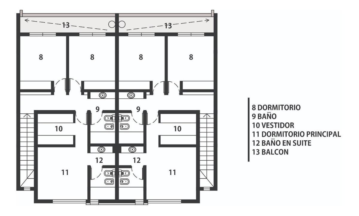 vendo duplex preventa prados de manantiales , cordoba ,sistema llave en mano