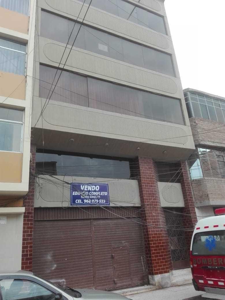 vendo edificio centro de chiclayo