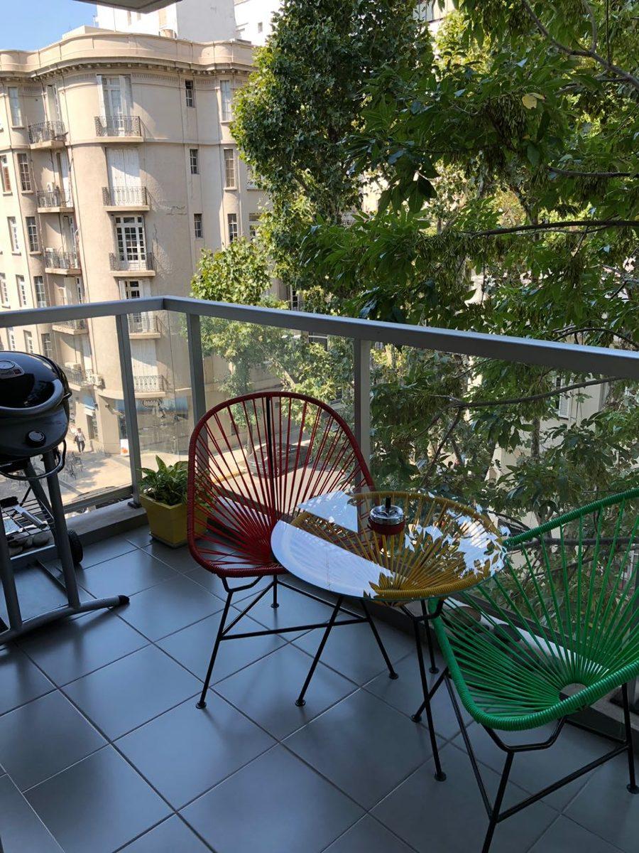 vendo en palermo. moderno 2 ambientes con balcón. frente