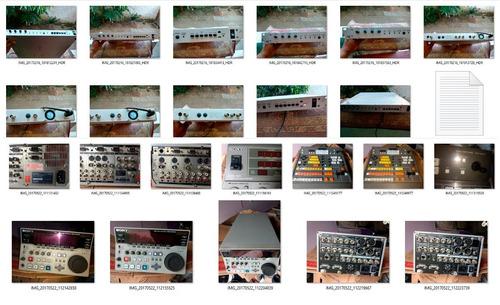 vendo  equipamento para estúdio diversos tudo