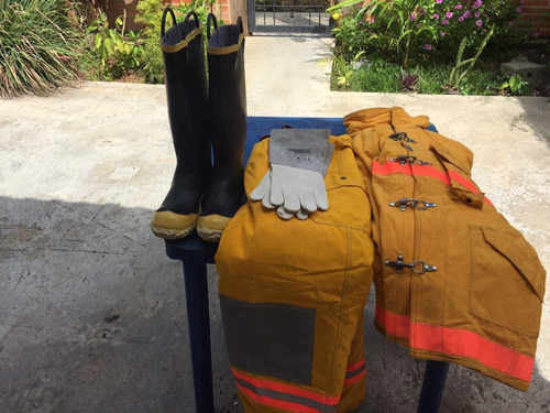 vendo equipo de protección personal contra incendio