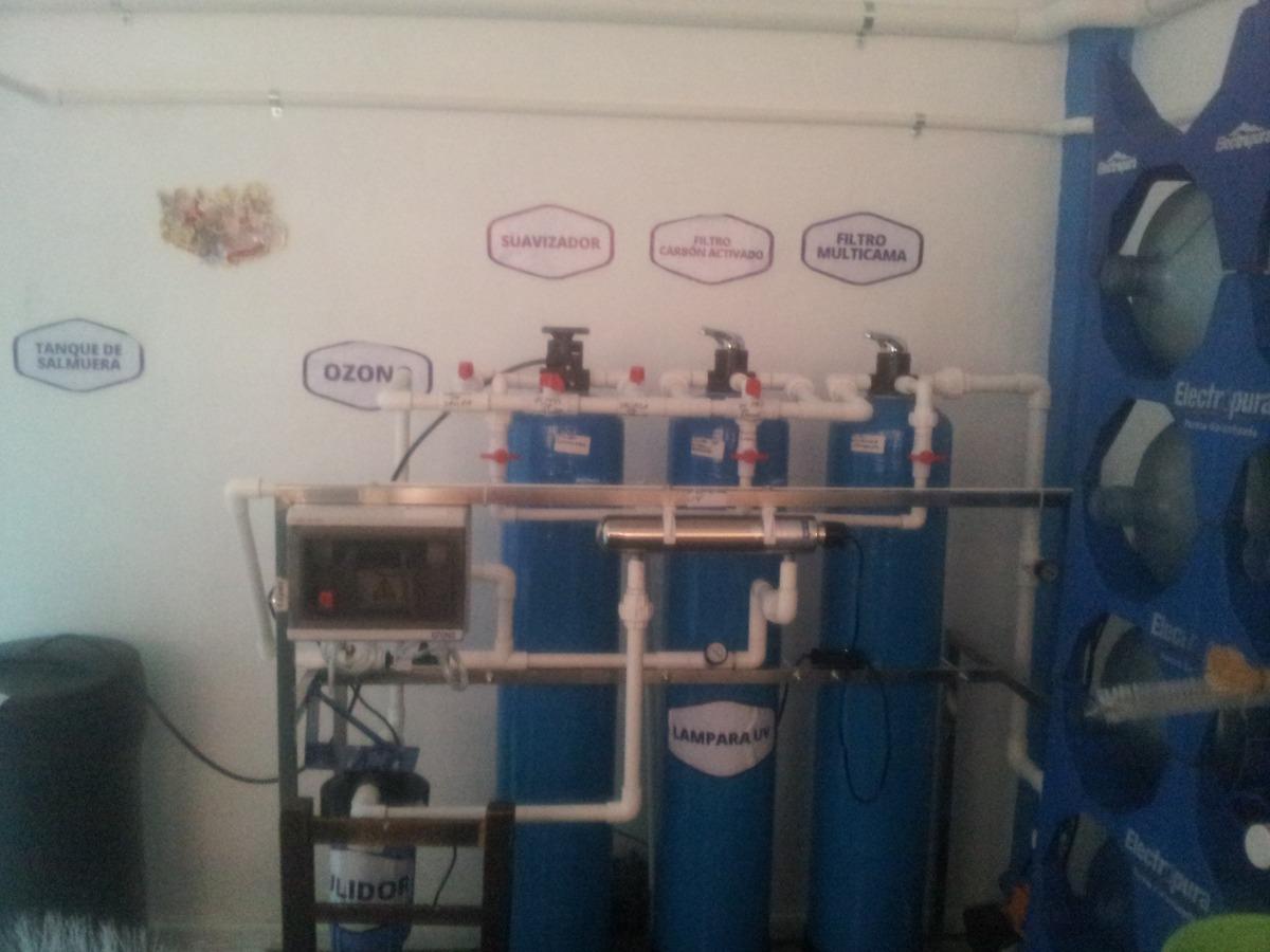 Vendo equipo de purificaci n de agua de acero inoxidable for Vendo estanque para agua