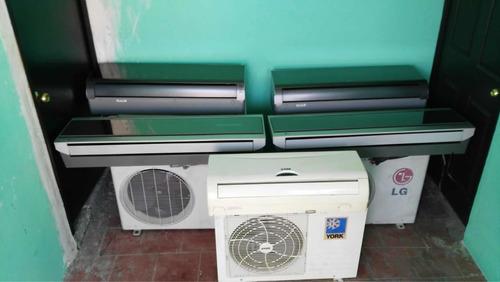 vendo equipos de aire acondicionado marca lg