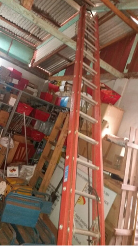 vendo escalera de fibra de vidrio