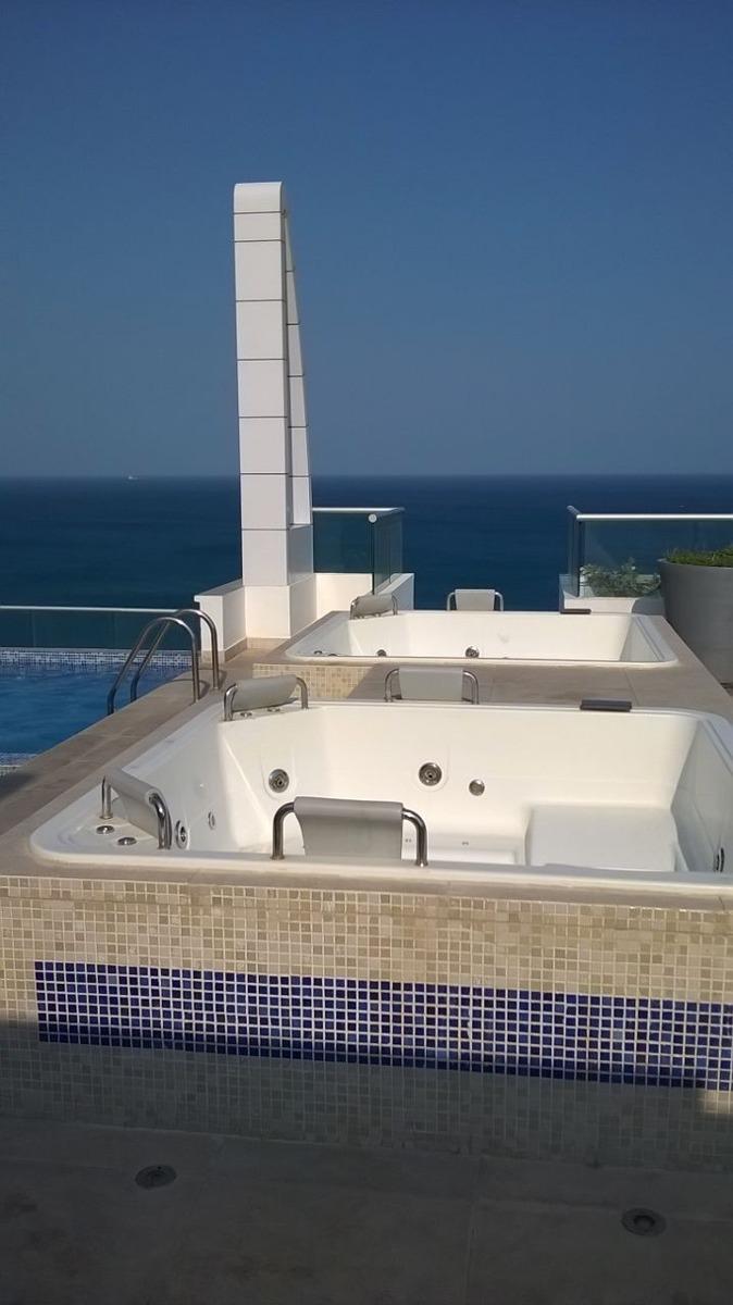 vendo espectacular apartamento frente al mar