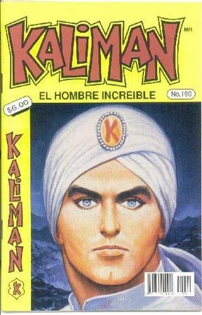 vendo espectacular coleccion de  kaliman    117 revistas