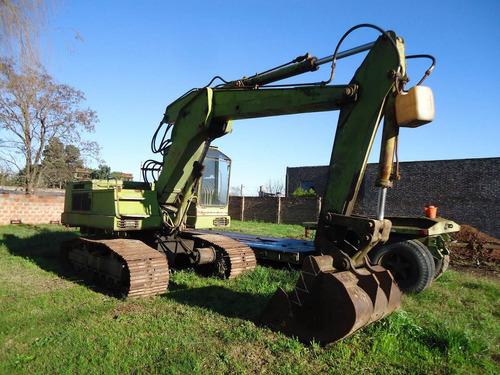 vendo excavadora hidromac 95 año 1980 trabajando perfecta.