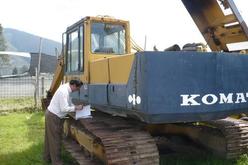 vendo excavadora pc200