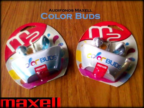 vendo excelente audifono maxell color buds gris!