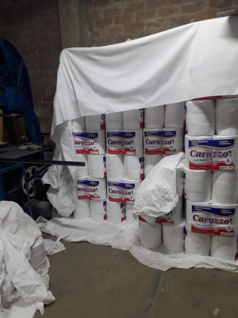 vendo  fabrica de papel higiénico lista para trabajar