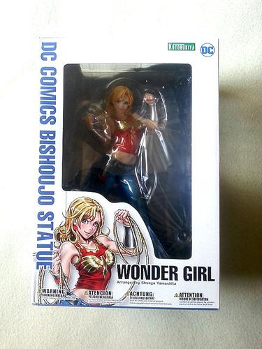 vendo figura wonder girl bishoujo kotobukiya