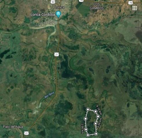 vendo finca de 120 hectareas. inundable para mejora
