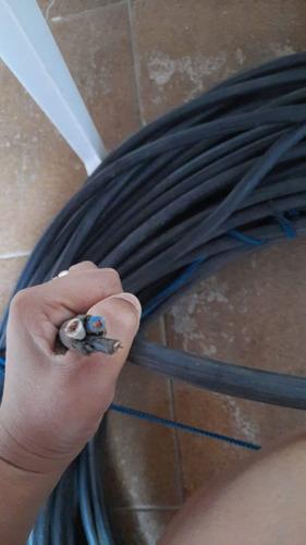 vendo fio cabo pp6 milímetros dois polos neutro , 120 metros