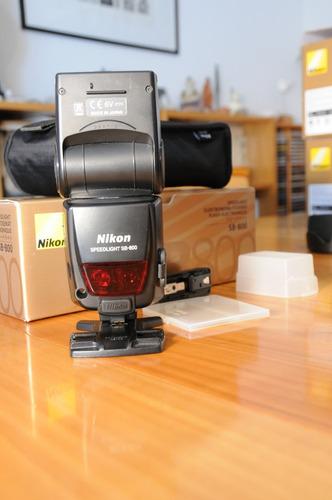 vendo flash nikon sb800 completo con su estuche sin caja
