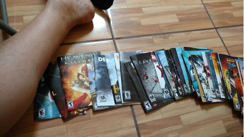 vendo folletos de juegos exclusivos de ps3
