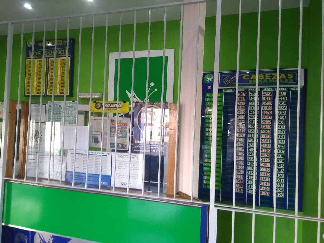 vendo fondo de comercio agencia de lotería