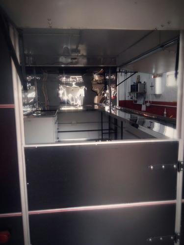 vendo food truck gastronómico completo para trabajar