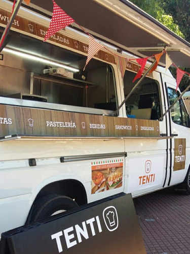 vendo food truck mercedes benz sprinter