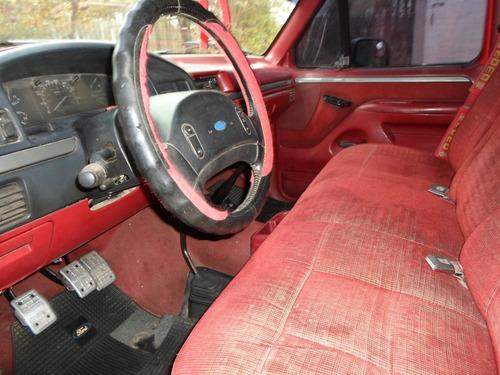 vendo ford 150 xlt americana 4x4 flare side 4.9 inyeccion