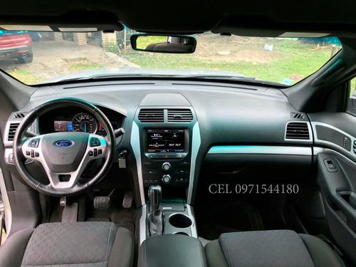 vendo ford explorer 2014, año 2014, motor flex 3.5  poco uso