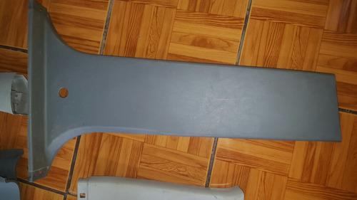 vendo forros plasticos internos de toyota hilux 2006-2014