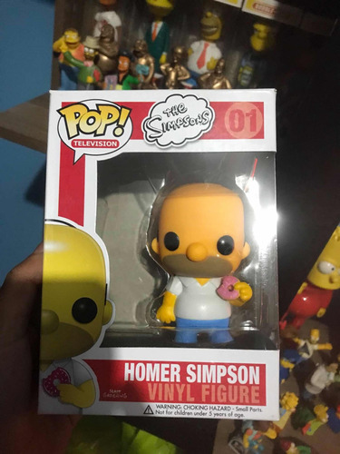 vendo funko pop homero simpson