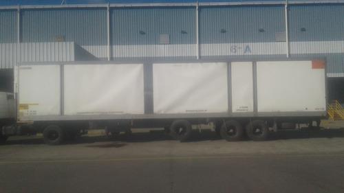 vendo  furgon termico c/ frio bonano