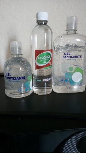 vendo gel antibacterial litro 1000ml 500ml alcohol 500 ml