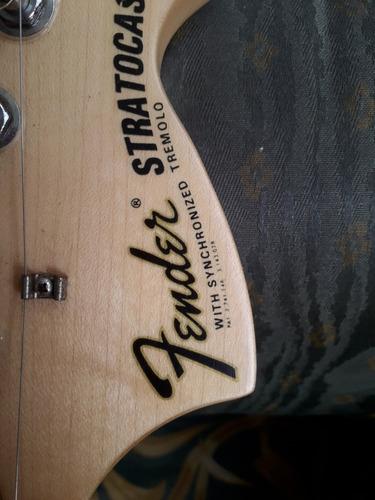 vendo guitarra fender stratocaster año 87