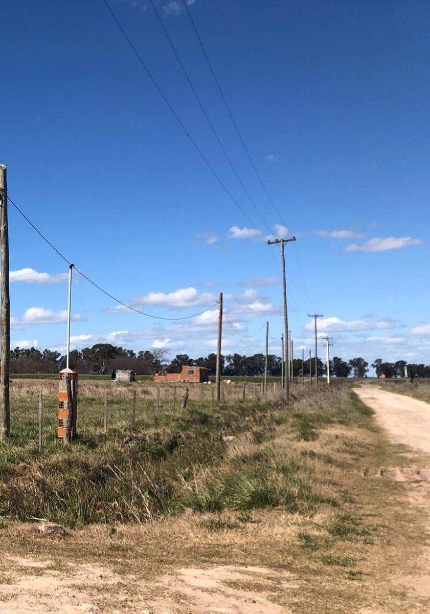 vendo hectáreas cañuelas con casa a terminar sobre ruta