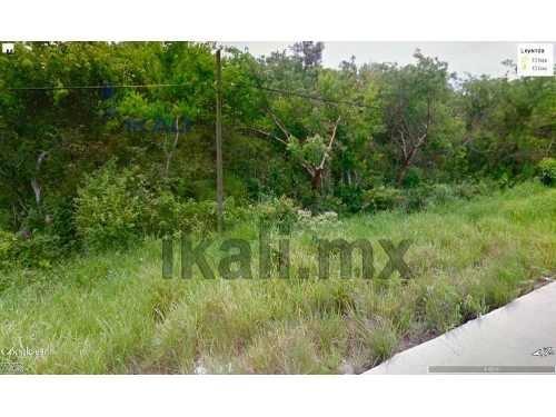 vendo hectáreas carretera tuxpan - tamiahua 10 hectáreas, terreno de 10,000 m² sobre el nivel de la carretera, son 166 m. de frente por 560 m. de fondo aproximadamente ya que el terreno tiene forma d
