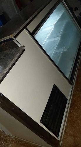vendo heladera mostrador un año de uso 2 metros